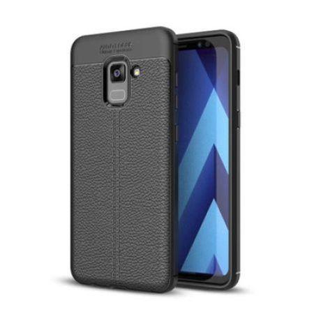 Husa Litchi TPU silicon Samsung Galaxy S8 Plus0