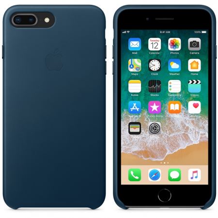 Husa Leather Cover Iphone 7 Plus/8 Plus Cosmos Blue [1]