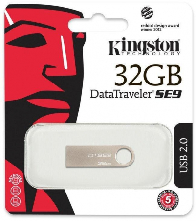 Memorie USB Kingston DataTraveler SE9, 32GB, USB 2.01