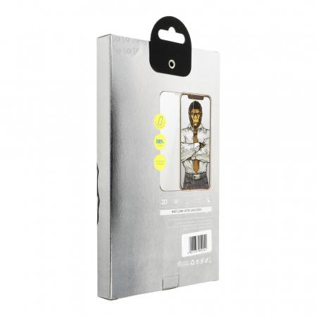 Folie 5D Mr. Monkey Samsung Galaxy S9 Plus full AB glue cu rama [1]