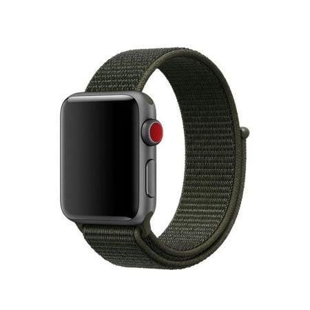 Curea Nylon strap Apple Watch 38/40mm / H029 / dark green3