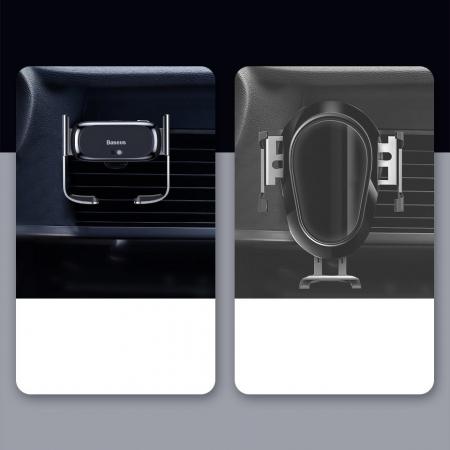 Suport auto Baseus Mini cu prindere electrica SUHW01-01 [9]