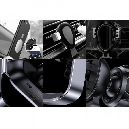 Suport auto Baseus Mini cu prindere electrica SUHW01-01 [11]