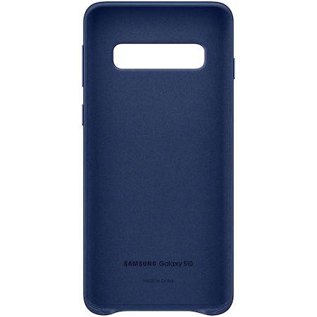 Husa de protectie Samsung Leather pentru Galaxy S10 G973, Navy1