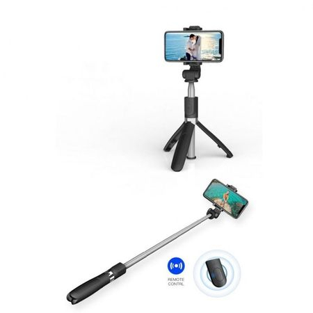 Selfie stick Tech-Protect wireless cu trepied L01S [7]