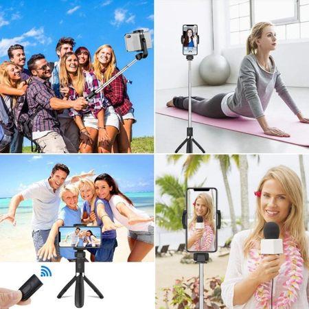 Selfie stick Tech-Protect wireless cu trepied L01S [9]