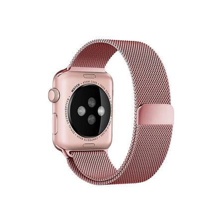'Curea Apple Watch Milanese Loop 42/44mm rose gold' [3]