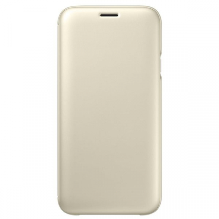 SAMSUNG GALAXY J7 (2017) WALLET COVER GOLD0