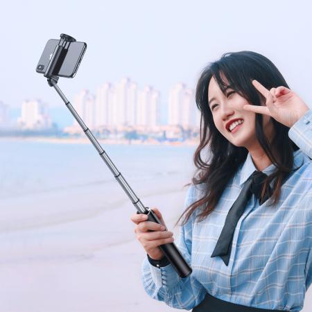Selfie stick Baseus trepied telescopic cu bluetooth [4]