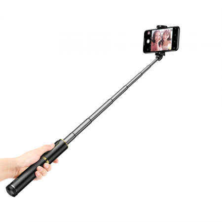 Selfie stick Baseus trepied telescopic cu bluetooth [7]