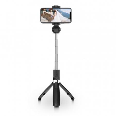 Selfie stick Tech-Protect wireless cu trepied L01S [0]