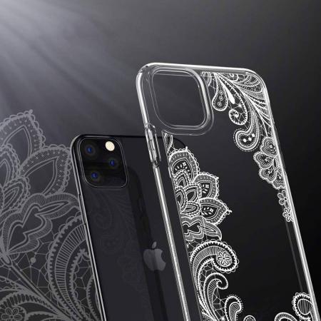 SPIGEN Ciel for Iphone 11 PRO ( 5.8 ) white mandala1
