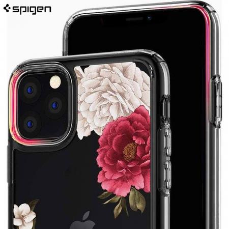 HUSA SPIGEN CIEL IPHONE 11 PRO MAX RED FLORAL2