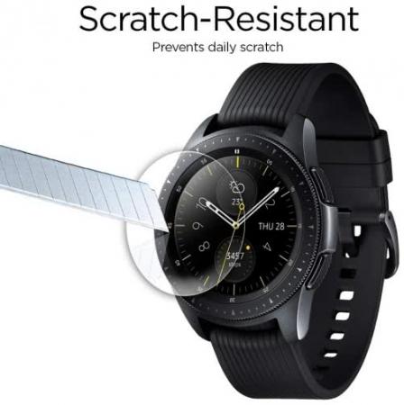 Folie sticla Spigen Glass Spigen Galaxy Watch 42mm3