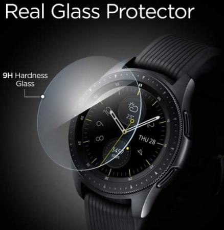 Folie sticla Spigen Glass Spigen Galaxy Watch 42mm1