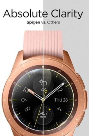 Folie sticla Spigen Glass Spigen Galaxy Watch 42mm2