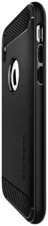 Husa Spigen Rugged Armor Iphone XS Max5