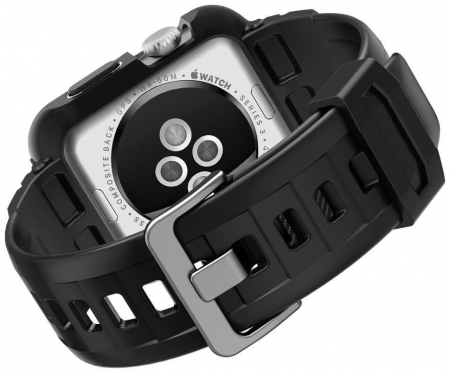 Husa Spigen Rugged Armor Pro Apple Watch 42mm4