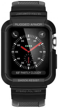 Husa Spigen Rugged Armor Pro Apple Watch 42mm6