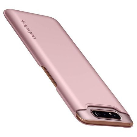 SPIGEN Thin Fit SAMSUNG A80 rose gold2