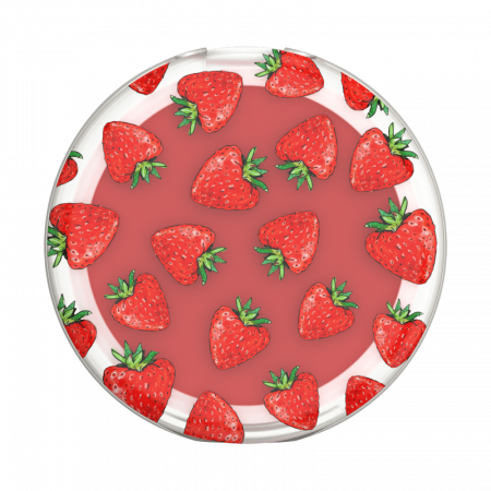 Suport stand adeziv universal Popsockets PopLips Strawberry Feels [0]