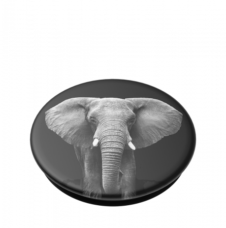 Suport stand adeziv universal Popsockets Popgrip Loxodonta Africana2
