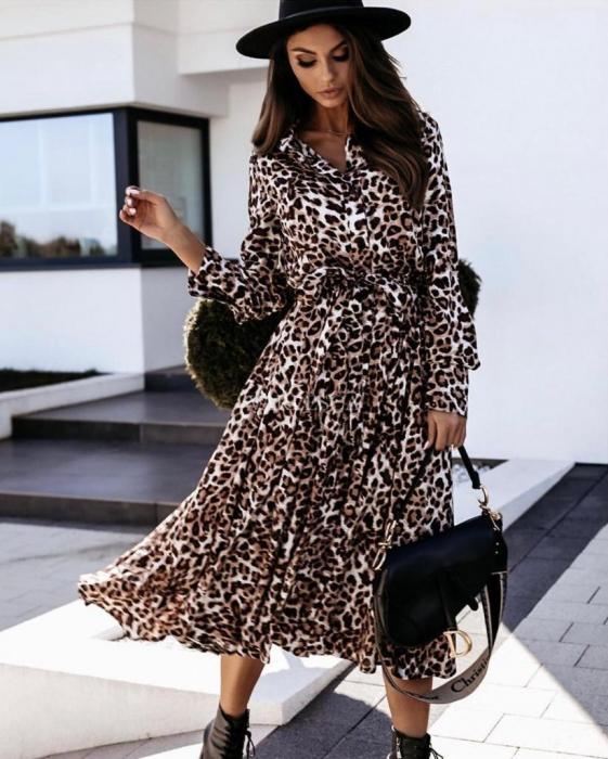 Rochie Samira Leopard 0