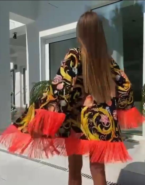 Costum de Baie si Pareo Perla Negru [2]