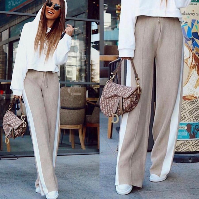 Pantaloni Selma Bej [0]