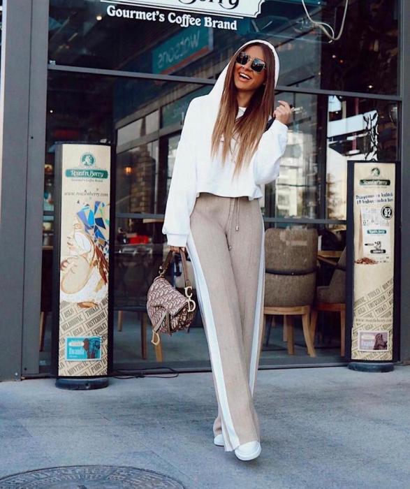 Pantaloni Selma Bej [2]