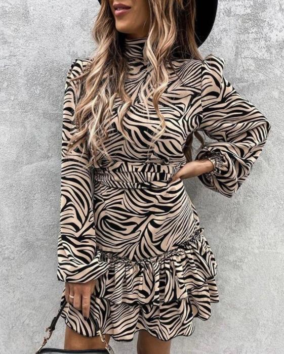 Rochie Aura Black&Gold 0