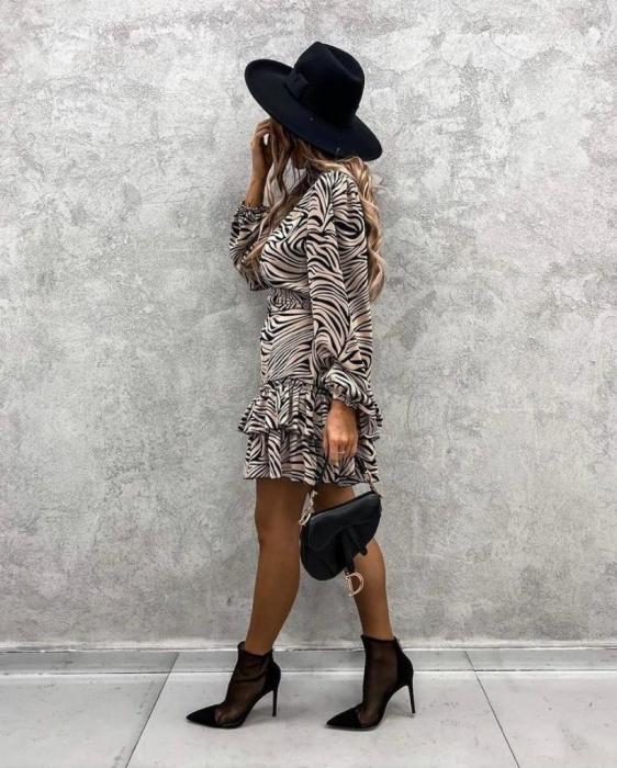Rochie Aura Black&Gold 1