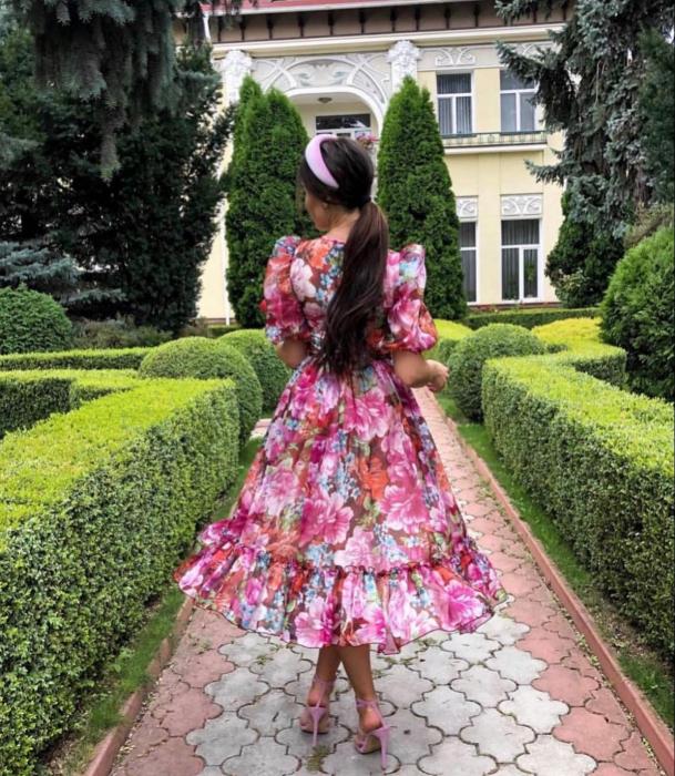 Rochie Maxi Pink 2