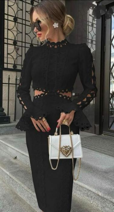 Rochie Midi Charlotte Black [1]