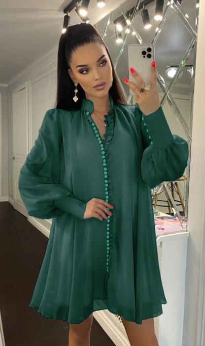 Rochie Mini Green Hazel [0]