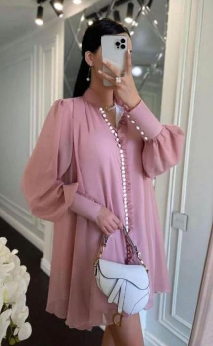 Rochie Mini Pink Hazel [0]