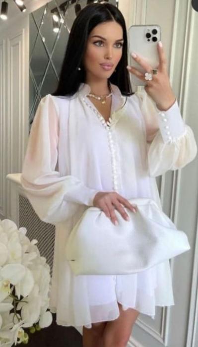 Rochie Mini White Hazel [0]