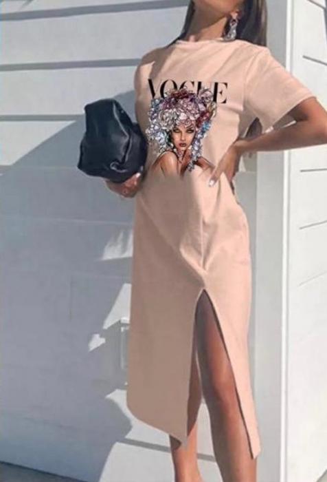 Rochie Roz Vogue [0]
