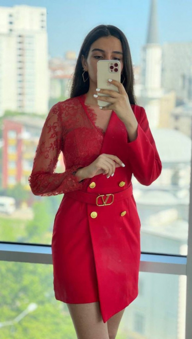 Rochie Tip Sacou Red Catlin [0]