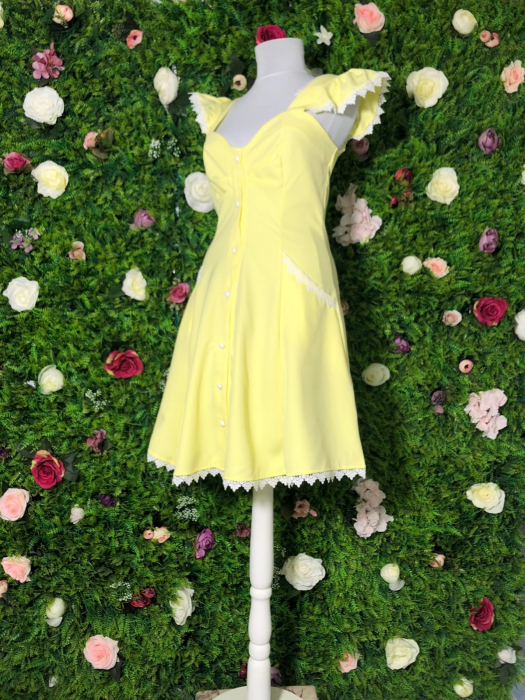 Rochie Yellow SunShine 3