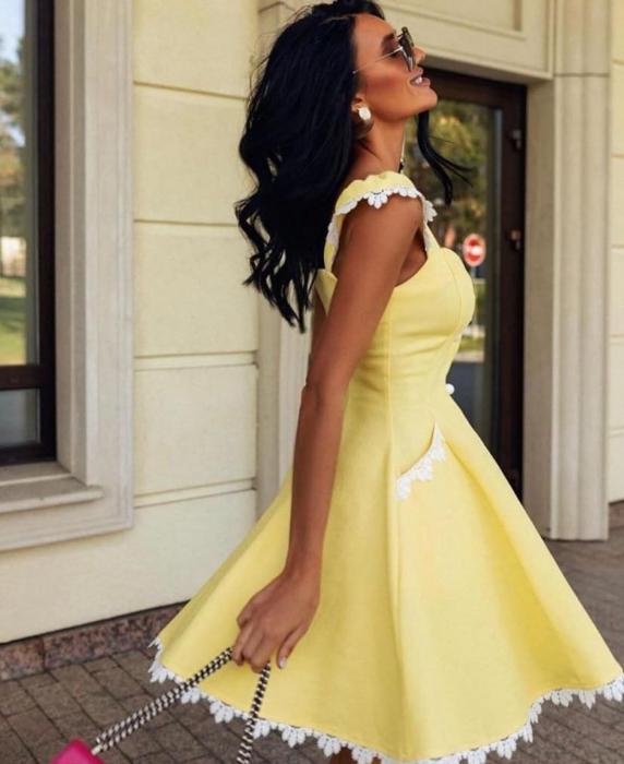 Rochie Yellow SunShine 0
