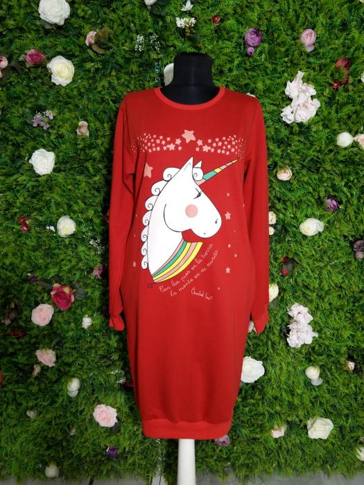 Rochie dama Unicorns rosie 0