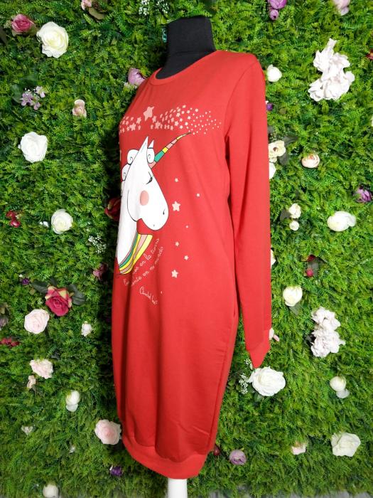 Rochie dama Unicorns rosie 1