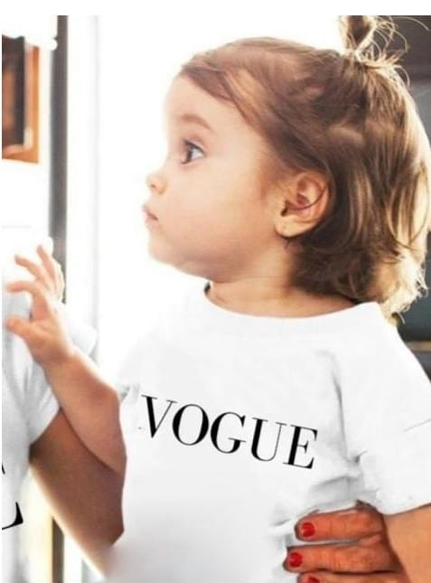 Tricou copii alb Vogue [1]