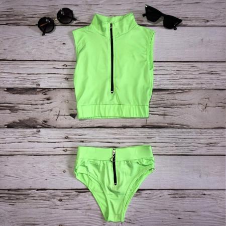 Costum de baie Inna Verde Neon0
