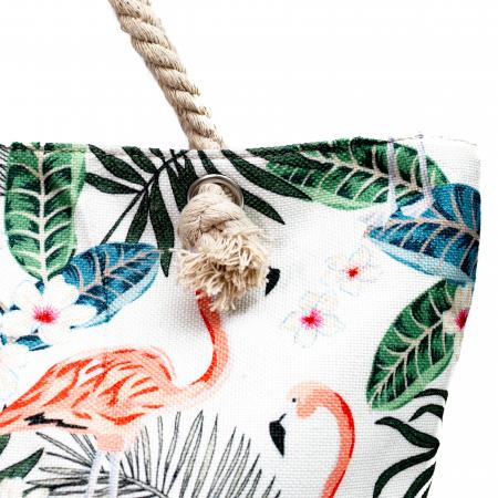 Geanta de Plaja Tropical Flamingo [2]