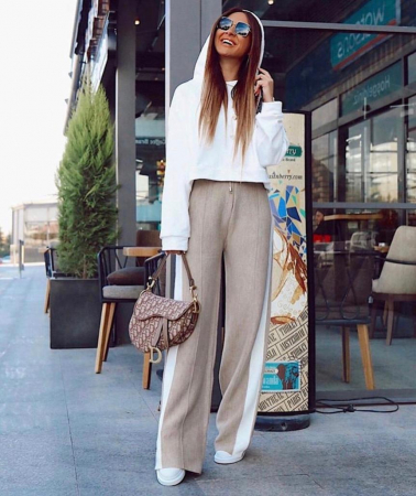 Pantaloni Selma Bej [1]