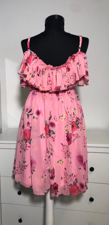 Rochie Butterfly Pink2