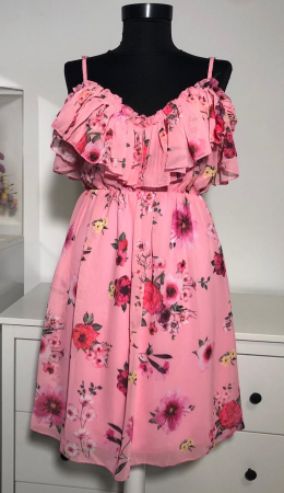Rochie Butterfly Pink1