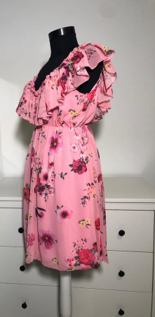 Rochie Butterfly Pink3